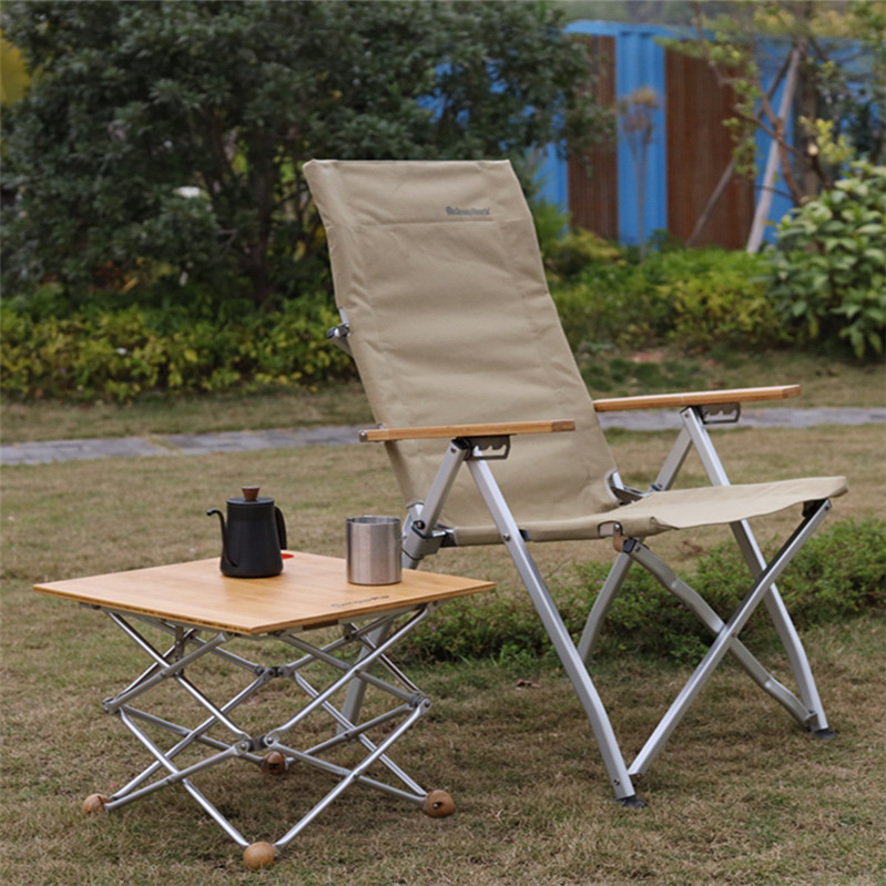 adjustable camp chair