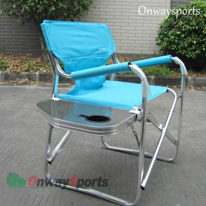 Outdoor Camp Director chair with side table OW-N65T Camouflage