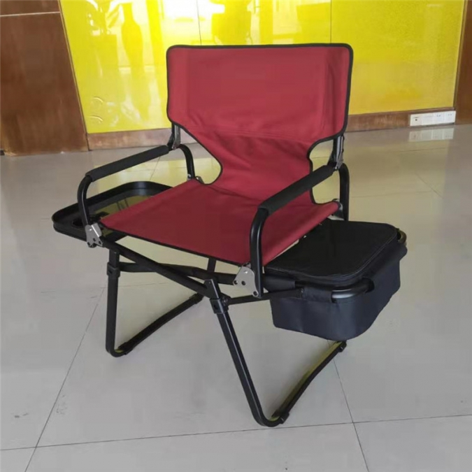 Director Chair With Side Table And Cooler Bag