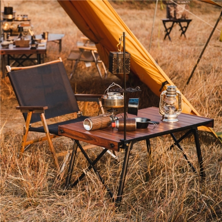 roll camping table